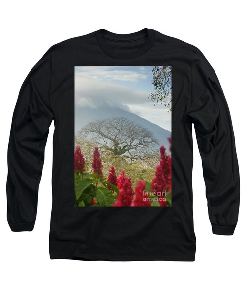 Ometepe Island 1 Long Sleeve T-Shirt by Rudi Prott