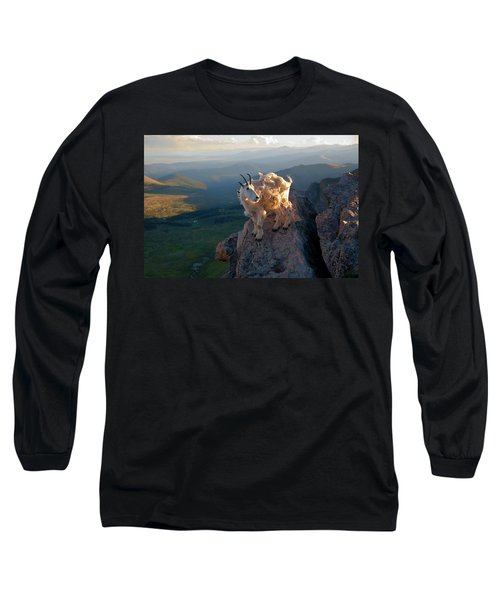 Long Sleeve T-Shirt featuring the photograph On A Clear Day by Jim Garrison
