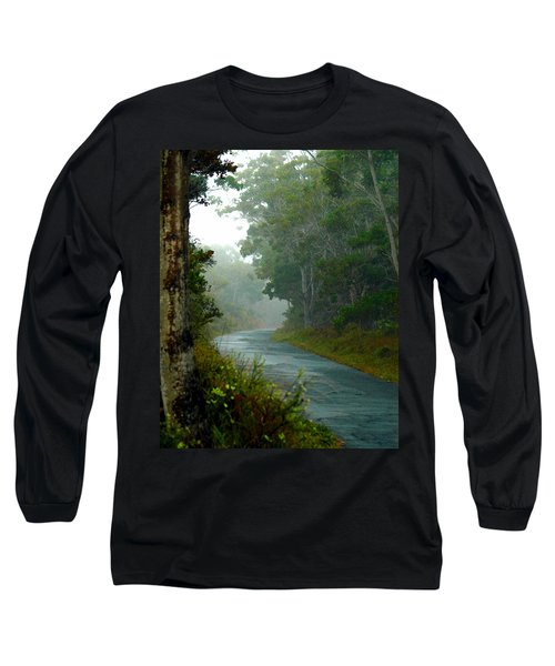 On A Country Road Long Sleeve T-Shirt