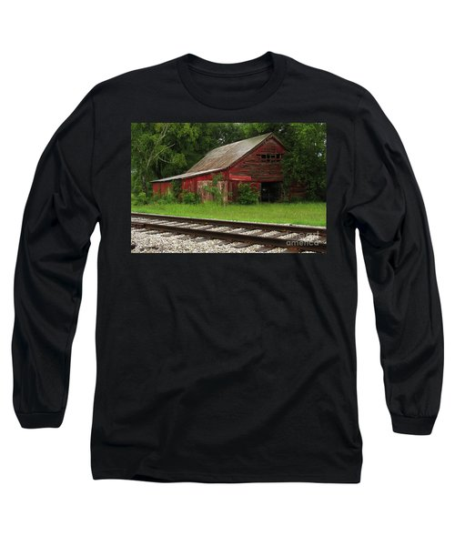 On A Tennessee Back Road Long Sleeve T-Shirt by Douglas Stucky