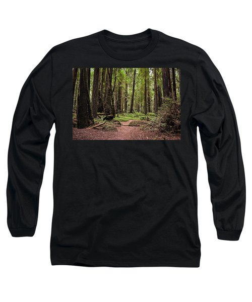 On The Enchanted Path Long Sleeve T-Shirt