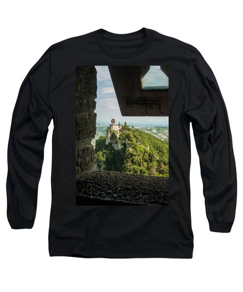 On The Inside Long Sleeve T-Shirt by Alex Lapidus