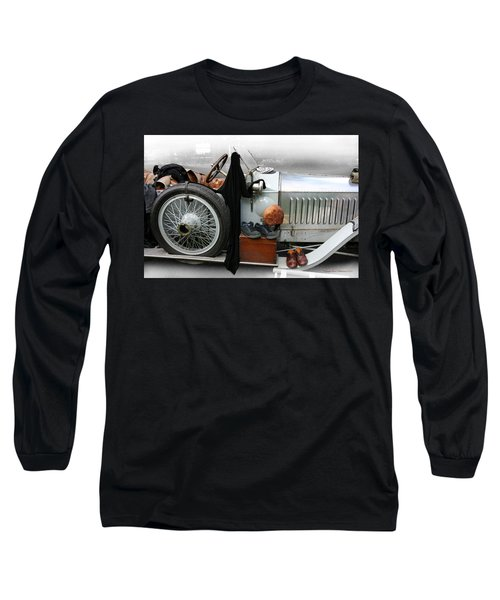 Long Sleeve T-Shirt featuring the photograph On The Road by Leena Pekkalainen