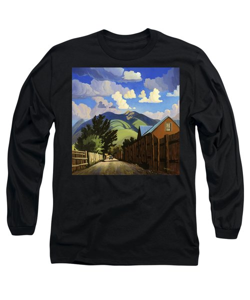 On The Road To Lili's Long Sleeve T-Shirt by Art James West