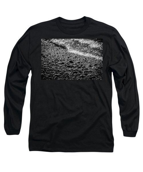 On The Rocks At French Beach Long Sleeve T-Shirt by Roxy Hurtubise
