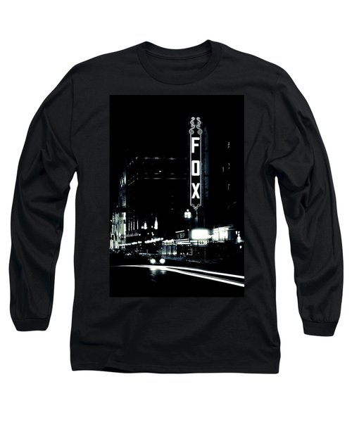 On The Town Long Sleeve T-Shirt by Scott Rackers