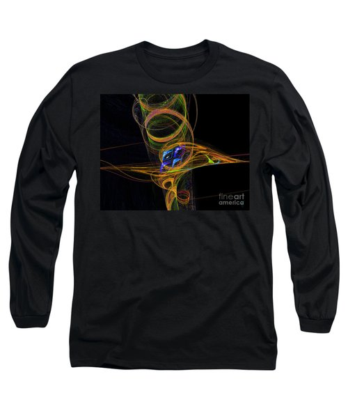 Long Sleeve T-Shirt featuring the digital art On The Way To Oz by Victoria Harrington