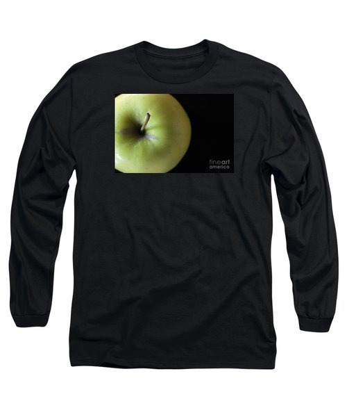 One Apple - Still Life Long Sleeve T-Shirt by Wendy Wilton