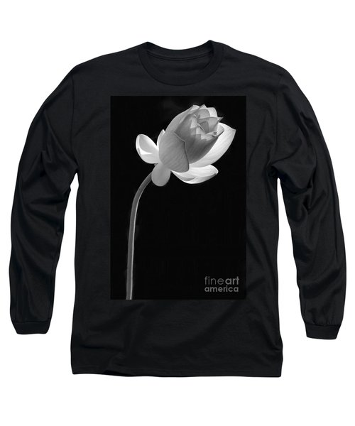 One Lotus Bud Long Sleeve T-Shirt