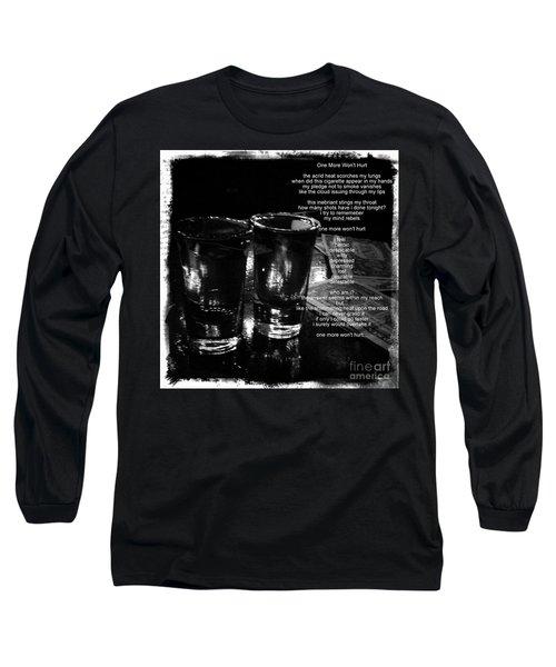 Long Sleeve T-Shirt featuring the photograph One More Won't Hurt by James Aiken