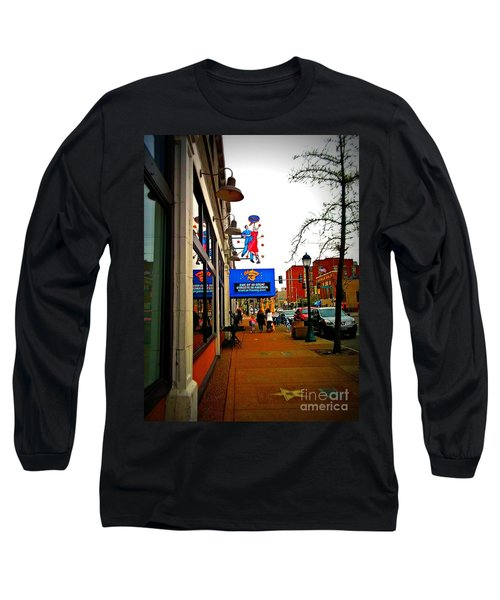 One Of Ten Great Streets Long Sleeve T-Shirt by Kelly Awad