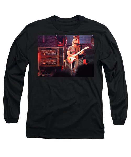 Long Sleeve T-Shirt featuring the photograph One Of The Greatest Guitar Player Ever by Aaron Martens
