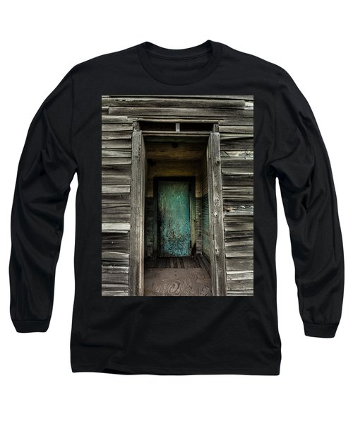One Room Schoolhouse Door - Damascus - Pennsylvania Long Sleeve T-Shirt