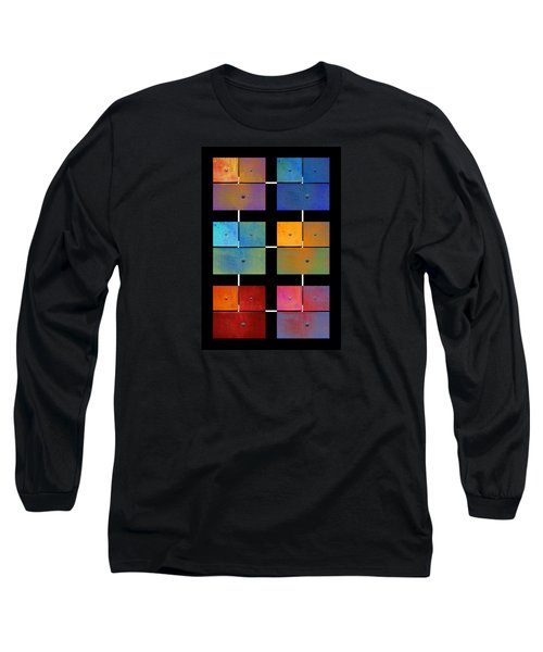 One To Eighteen - Colorful Rust - All Colors Long Sleeve T-Shirt by Menega Sabidussi