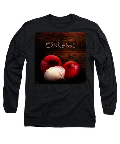 Onions II Long Sleeve T-Shirt