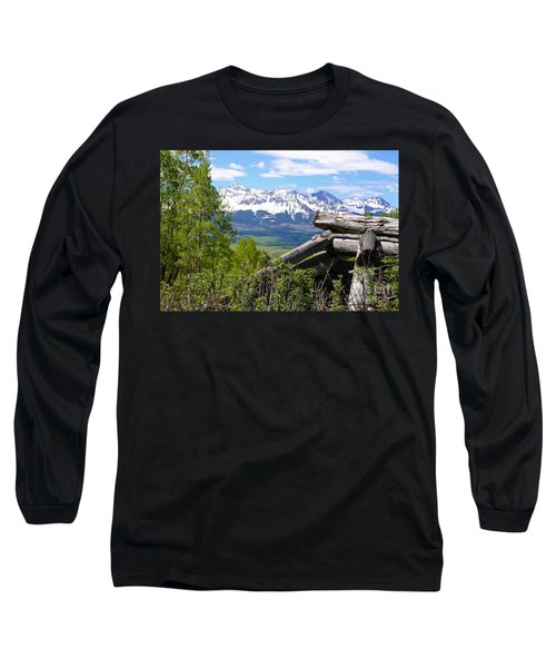 Only The Structures Crumble Long Sleeve T-Shirt