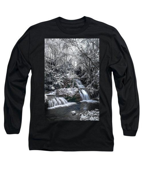 Onomea Falls In Infrared 2 Long Sleeve T-Shirt