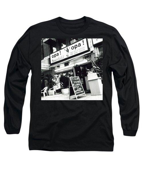 Long Sleeve T-Shirt featuring the photograph Opa Opa by James Aiken