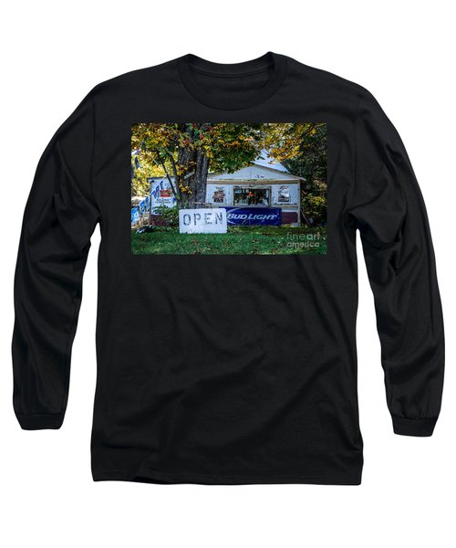 Open Or Closed Long Sleeve T-Shirt