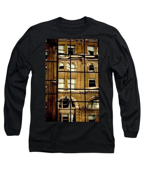 Long Sleeve T-Shirt featuring the photograph Open Windows by Christiane Hellner-OBrien