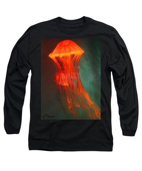 Orange Jellies Long Sleeve T-Shirt by Ellen Henneke