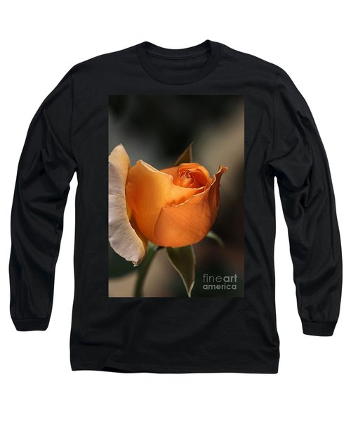 Long Sleeve T-Shirt featuring the photograph Orange Mood by Joy Watson