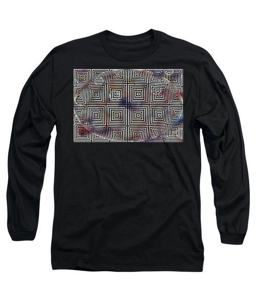 Long Sleeve T-Shirt featuring the digital art Orb by Cynthia Lagoudakis