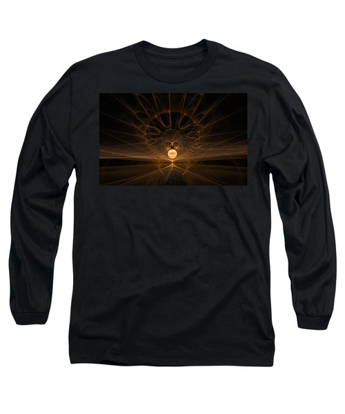 Long Sleeve T-Shirt featuring the digital art Orb by GJ Blackman