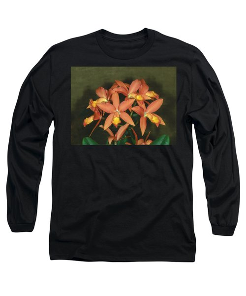 Orchid 3 Long Sleeve T-Shirt by Andy Shomock