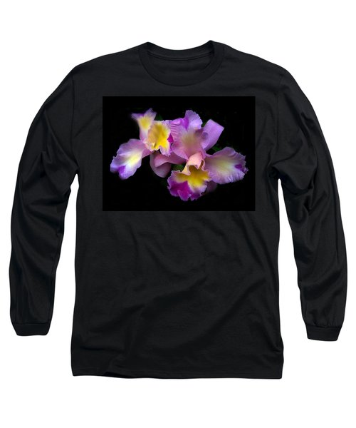 Orchid Embrace Long Sleeve T-Shirt