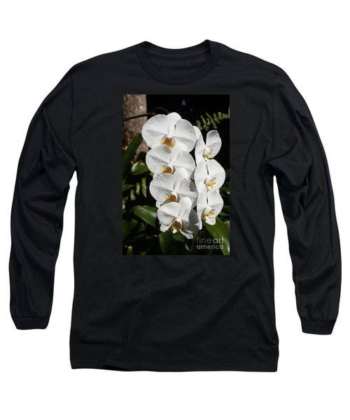 Orchids Anna Long Sleeve T-Shirt by The Art of Alice Terrill