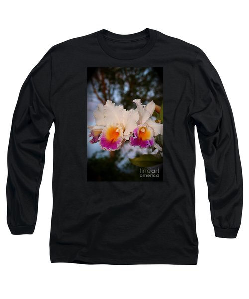 Orchid Elsie Sloan Long Sleeve T-Shirt by The Art of Alice Terrill