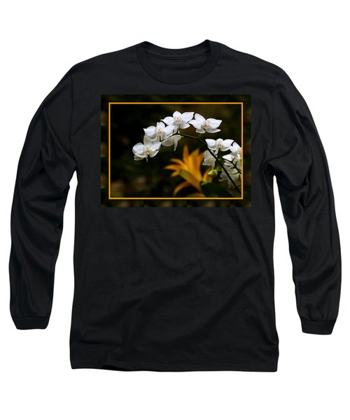 Long Sleeve T-Shirt featuring the photograph Orchids by John Freidenberg
