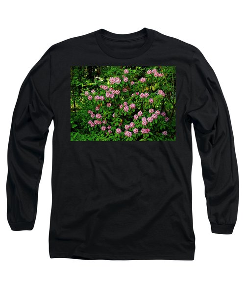 Oregon Azaleas Long Sleeve T-Shirt