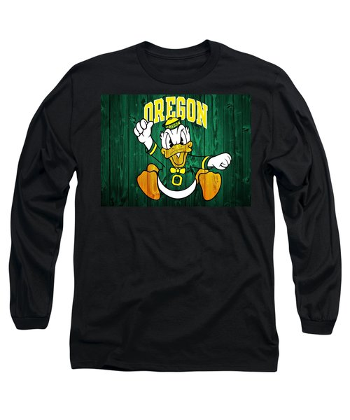 Oregon Ducks Barn Door Long Sleeve T-Shirt