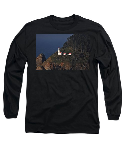 Oregon Lighthouse Long Sleeve T-Shirt