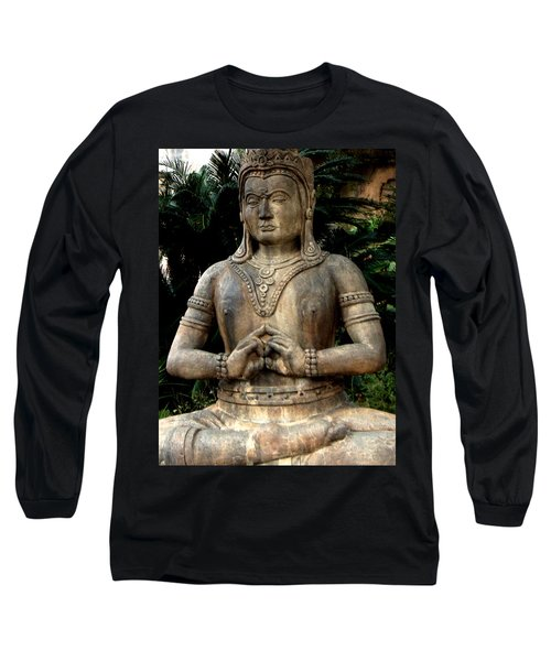 Oriental Statue Long Sleeve T-Shirt