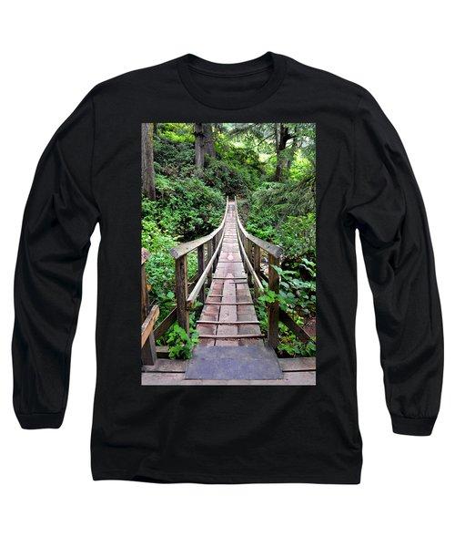 Oswald Swinging Bridge  Long Sleeve T-Shirt
