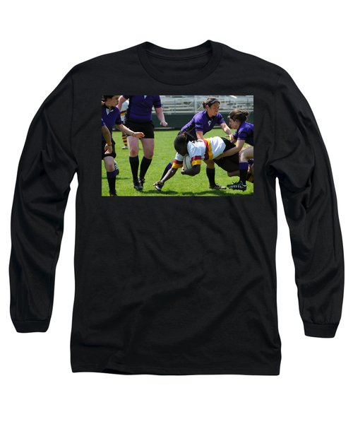 Long Sleeve T-Shirt featuring the photograph Out Numbered by Mike Martin