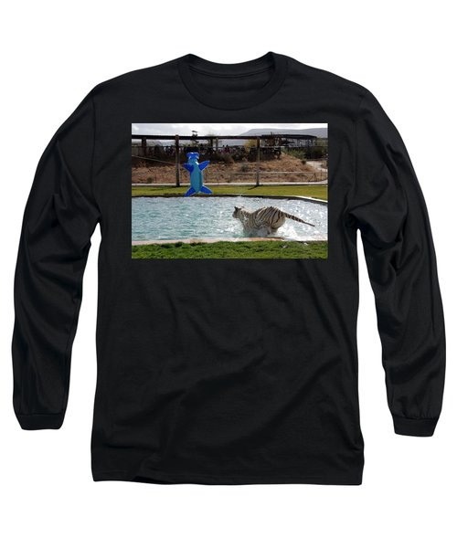 Out Of Africa Tiger Splash 3 Long Sleeve T-Shirt