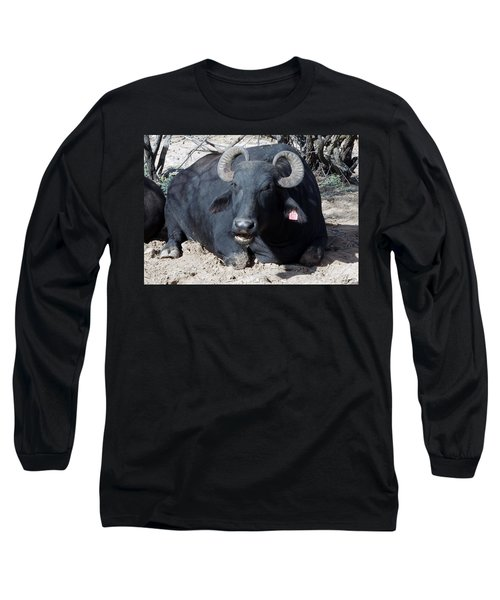 Out Of Africa  Water Buffalo Long Sleeve T-Shirt