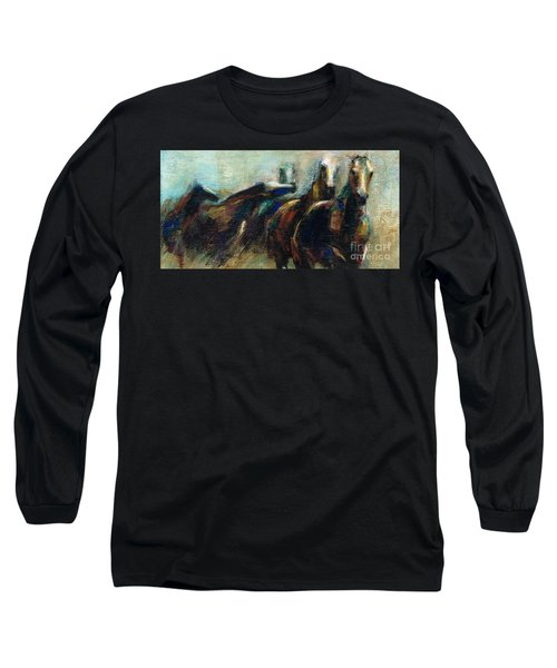 Out Of The Blue Into Reality Long Sleeve T-Shirt