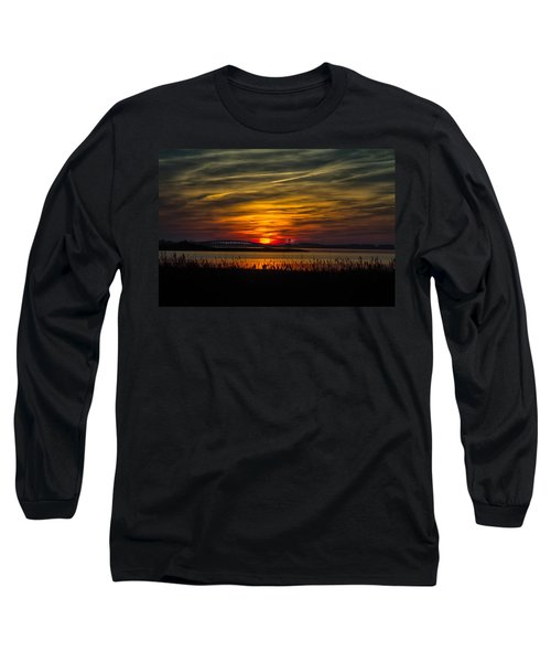 Outer Banks Sunset Long Sleeve T-Shirt