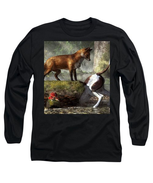 Outfoxed Long Sleeve T-Shirt