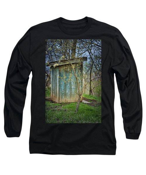 Outhouse In Spring Long Sleeve T-Shirt