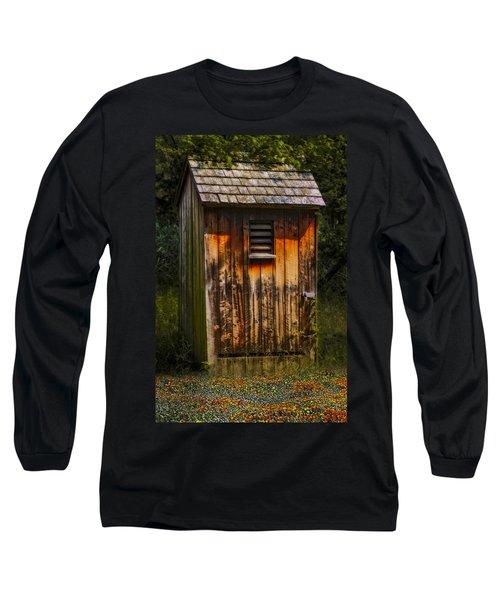 Outhouse Shack Long Sleeve T-Shirt