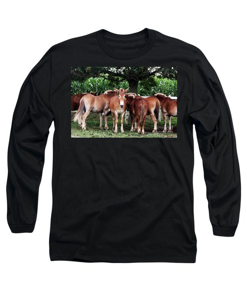 Outstanding In Your Field Long Sleeve T-Shirt by Polly Peacock