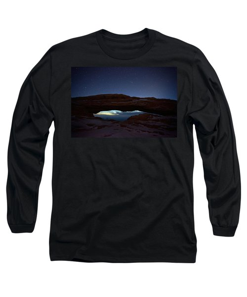 Long Sleeve T-Shirt featuring the photograph Over The Arch by David Andersen