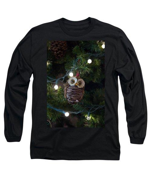 Owly Christmas Long Sleeve T-Shirt