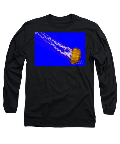 Long Sleeve T-Shirt featuring the photograph Pacific Sea Nettle by Nick  Boren